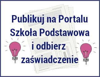 Publikuje na portalu Szkoła Podstawowa