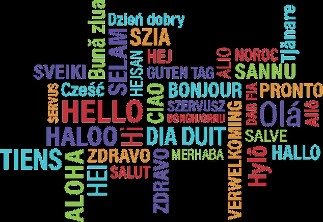 'Dzień dobry' w różnych językach